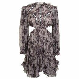 ZIMMERMANN Juno Cut Out Dress