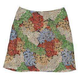 Beige Linen Skirt