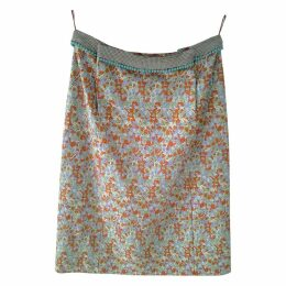 Multicolour Viscose Skirt