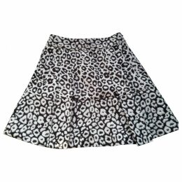 White Polyester Skirt