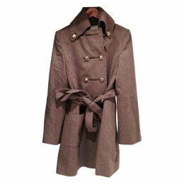 Ecru Wool Coat