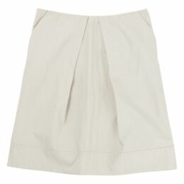 Beige Cotton Skirt