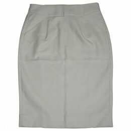 Ecru Cotton Skirt