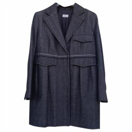 Anthracite Cotton Coat