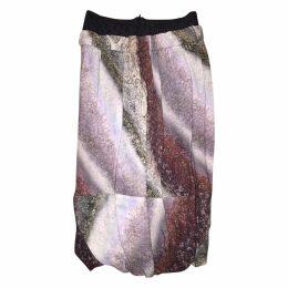 Multicolour Wool Skirt