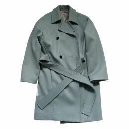 Green Wool Coat
