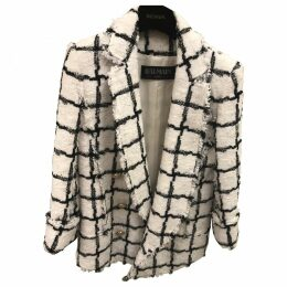 White Polyester Jacket