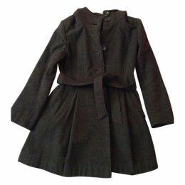 Anthracite Wool Coat
