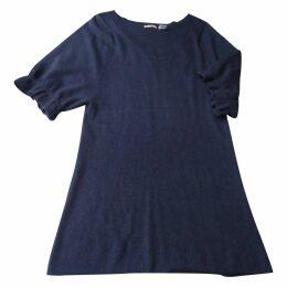 Blue Wool Dress