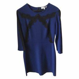 Blue Polyester Dress