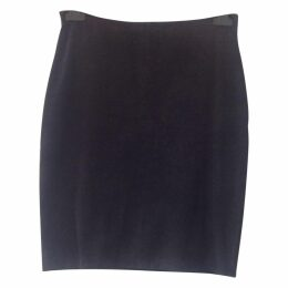Anthracite Cotton Skirt