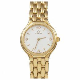 De Ville yellow gold watch
