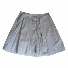 Grey Cotton Skirt