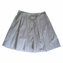 Grey Cotton Skirt