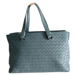 Fourre-Tout leather handbag