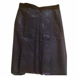 Navy Cotton Skirt