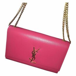 Kate monogramme leather clutch bag