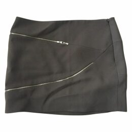 Grey Viscose Skirt