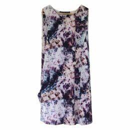 Multicolour Silk Dress