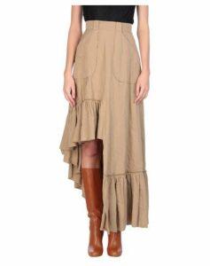 LUCILLE SKIRTS Knee length skirts Women on YOOX.COM