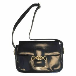 Patent leather crossbody bag