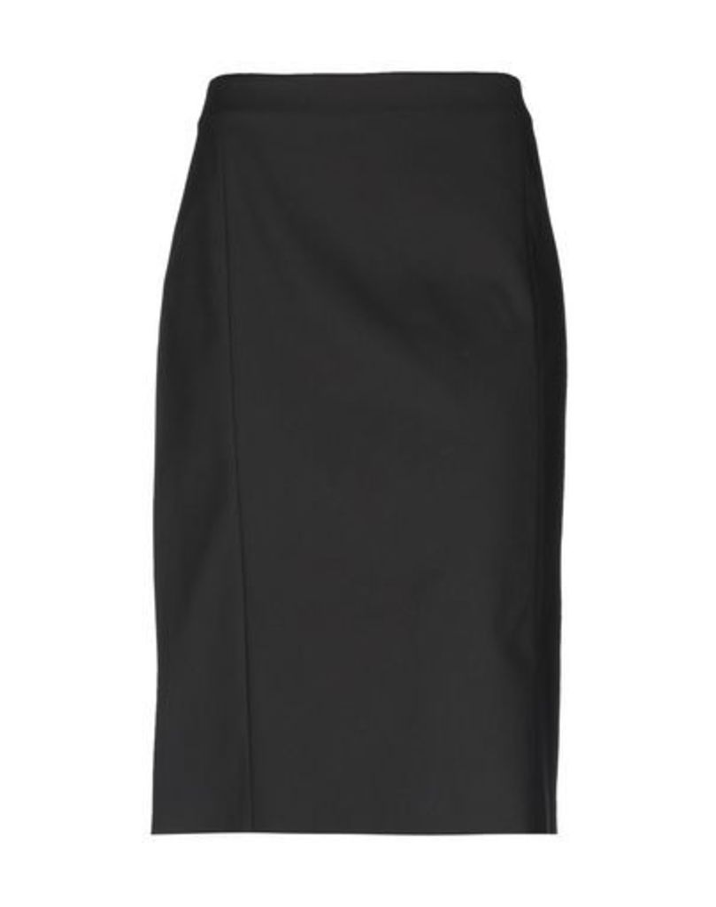 BLUE LES COPAINS SKIRTS 3/4 length skirts Women on YOOX.COM