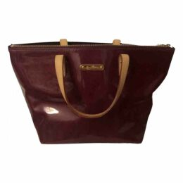 Bellevue patent leather tote
