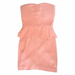 Pink Viscose Dress