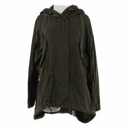 Khaki Polyamide Jacket