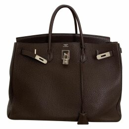 Birkin 40 leather handbag
