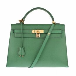 Kelly 32 leather handbag