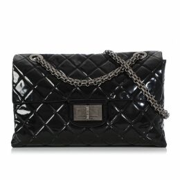 2.55 patent leather handbag