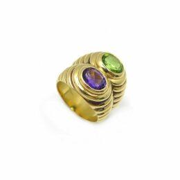 Serpenti yellow gold ring