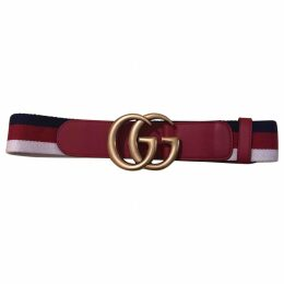 GG Buckle cloth belt