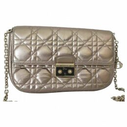 Miss Dior leather clutch bag