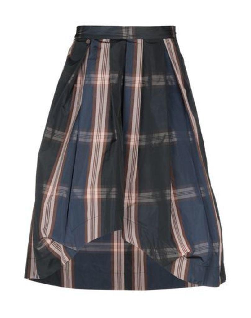 MANILA GRACE DENIM SKIRTS Knee length skirts Women on YOOX.COM