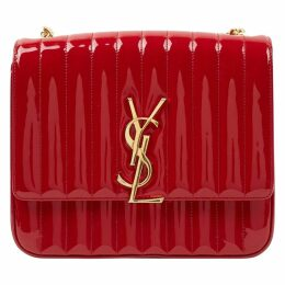 Vicky patent leather crossbody bag