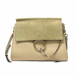 Faye leather handbag