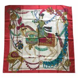 Carré 90 silk silk handkerchief