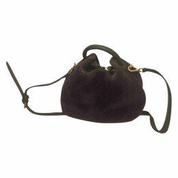 Shearling handbag