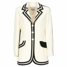 White Synthetic Jacket