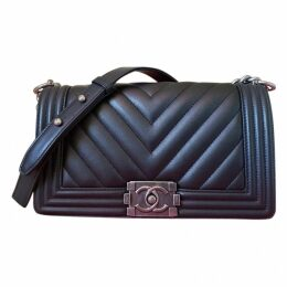 Boy leather crossbody bag