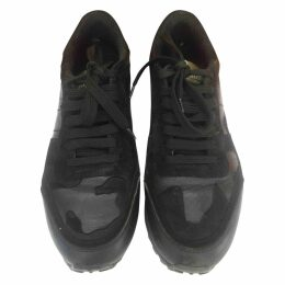 Rockrunner leather trainers