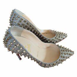 Pigalle glitter heels