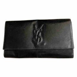 Belle de Jour patent leather clutch bag