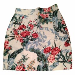 Minii high waisted skirt floral print