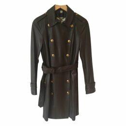 Lambskin military coat