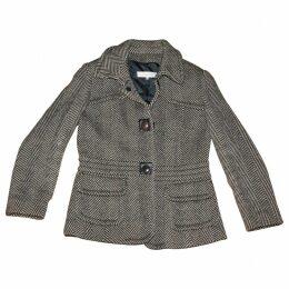 Multicolour Wool Coat