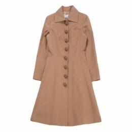 Brown Silk Coat