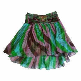Multicolour Silk Skirt